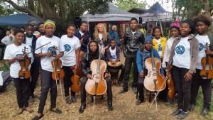 Keiskamma Music Academy string students